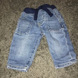 Old Navy baby jeans 3m
